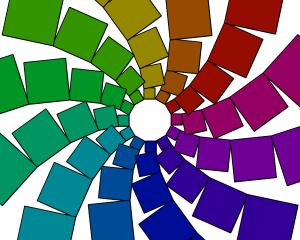 iFlower programmed using Turtle Art
