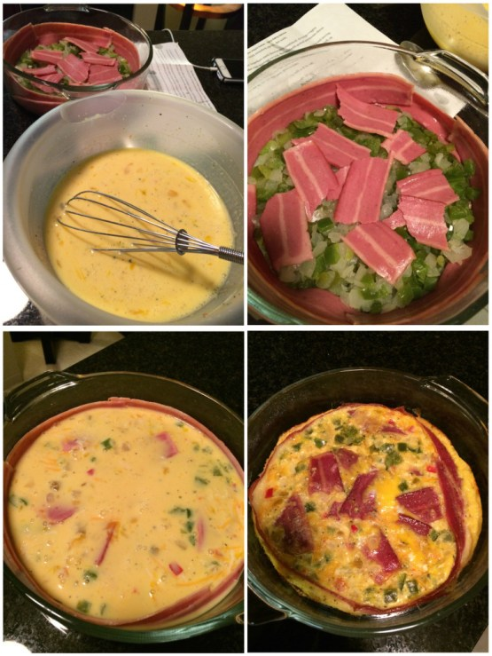 Bacon Crusted Quiche