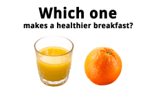 Avoid Fruit Juice