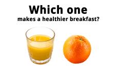 Avoid Fruit Juice