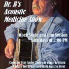 Dr. B's Saturday Afternoons Acoustic Stage – A Good Winter Antidote