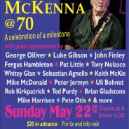 Playing Mike McKenna's Birthday party