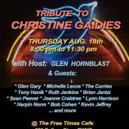 Tribute to Christine Gaidies Aug 18