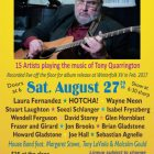 The Songs of Tony Quarrington Recorded Live Aug 27