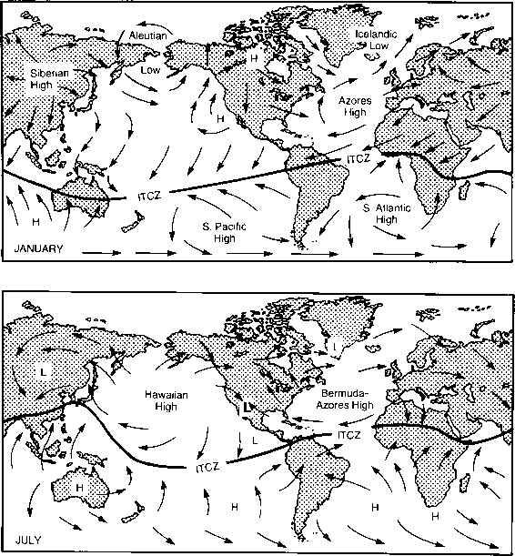 Oceanic And Atmospheric Circulation Patterns
