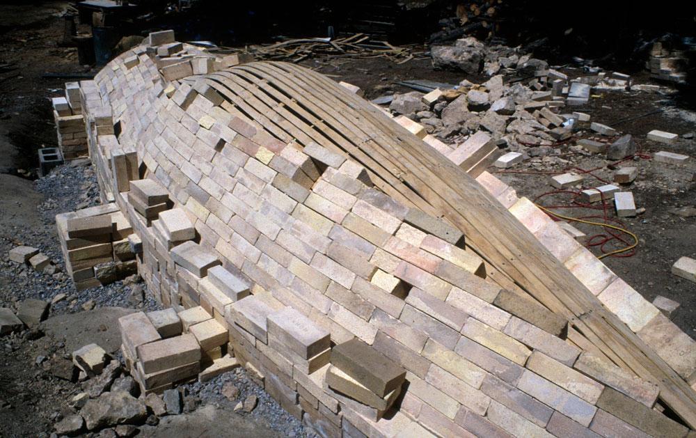 building brick arch
