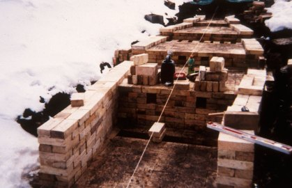 building the straight walls