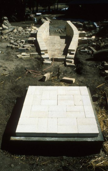 chimney foundation
