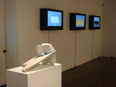 Installation view (Tyler Lotz and Tiffany Carbonneau)