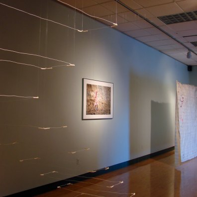 Installation view - The Air & The Ground