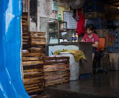 Woman at Seafood Market, Guangzhou, China (IMG_1760)