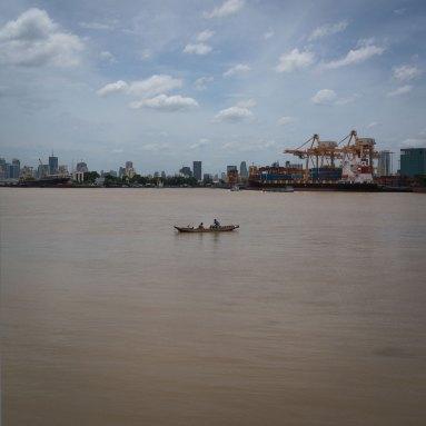 Boat, Chao Phraya River, Bangkok, Thailand (IMG_6418)