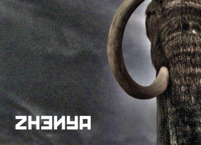Zhenya: the exhibition (postcard)