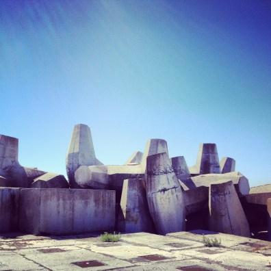 Concrete, Sky. Cape Town