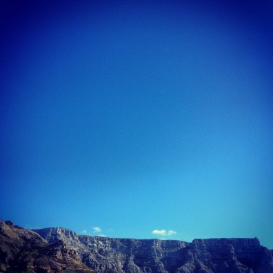 Table Mountain. Cape Town.