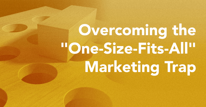 overcoming the one size