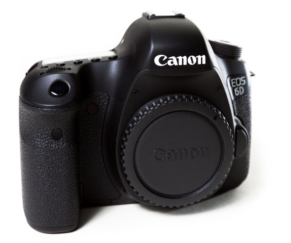 Canon 6D front angle