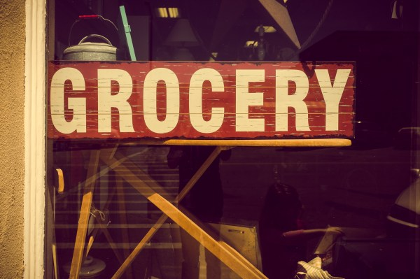 grocery sign