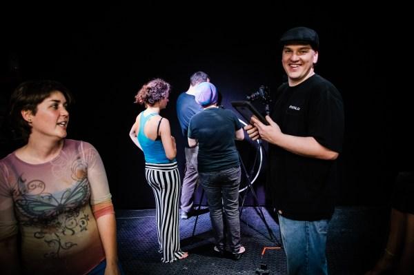 hyperion hoop shoot: behind the scenes