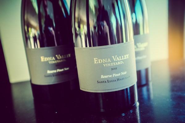 edna valley wine release event