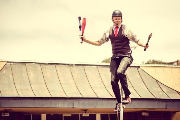 juggler   photograph by Brian J. Matis