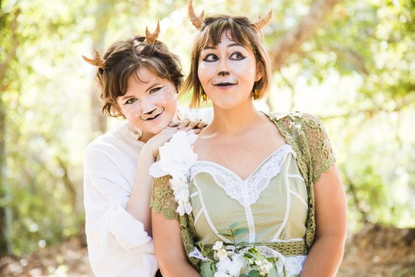 enchanted forest costumes | photograph by Brian J. Matis