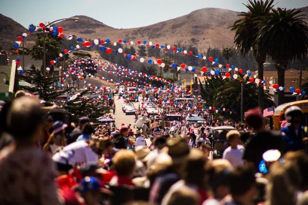 Cayucos 4th of July parade | photograph by Brian J. Matis