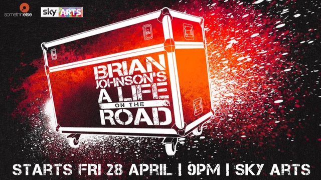 Brian Johnson Life on the Road Flyer