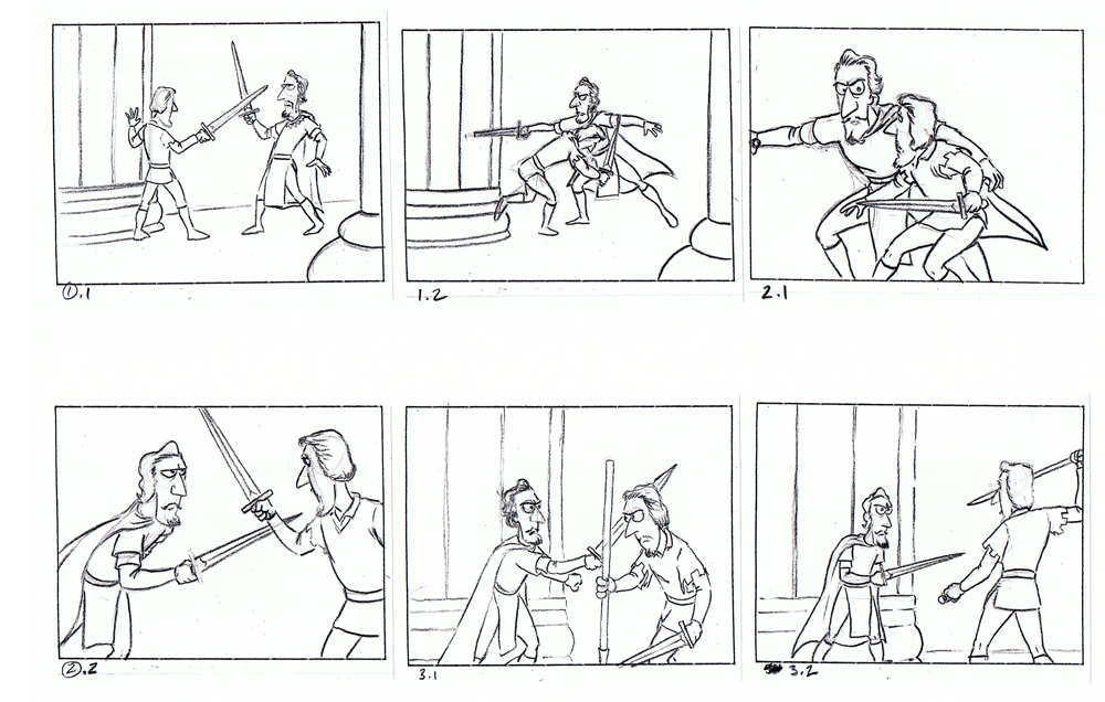 Storyboarding Project #1