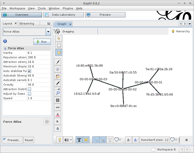 Visualizing software defined network topologies using pox and gephi linear topology publicscrutiny Image collections
