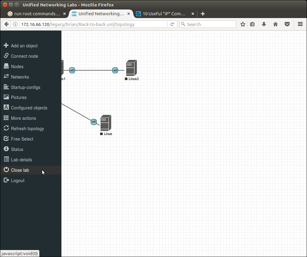 How to set up the UNetLab or EVE-NG network emulator on a