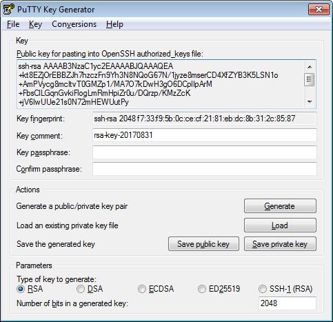 generate ssh key pair mac