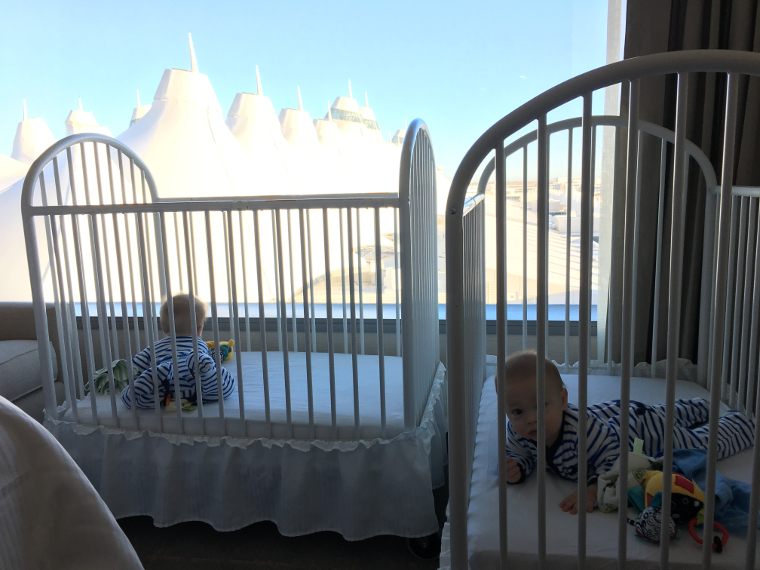 free room upgrade at the Westin Denver International Airport