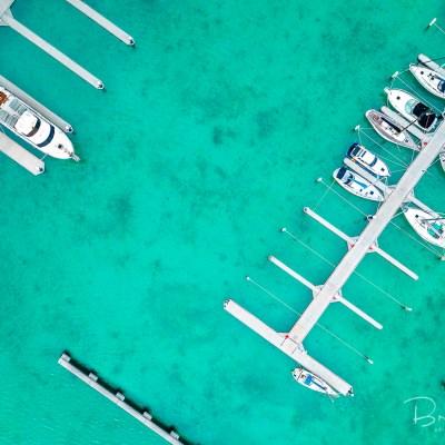 Blairgowrie Marina - Aerial Artwork