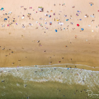 Aerial Artwork - Beach Life