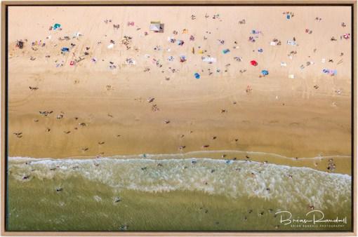 Beach Life - Aerial Artwork