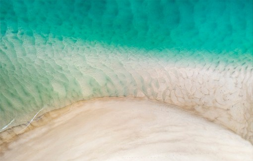 Sand Island - Aerial Artwork