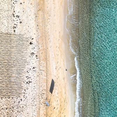 Beach Bliss - Aerial Artwork