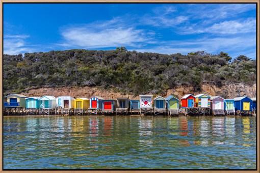 Sea Box , Aerial Artwork, Brian Randall, Mornington Peninsula, Victoria