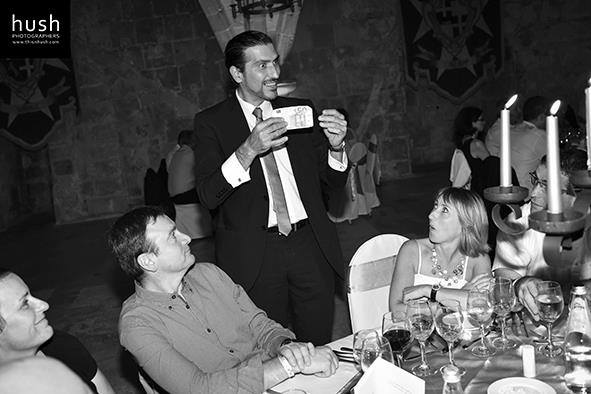 Corporate Event - Magic with borrowed money #magicianmalta #corporatemagician