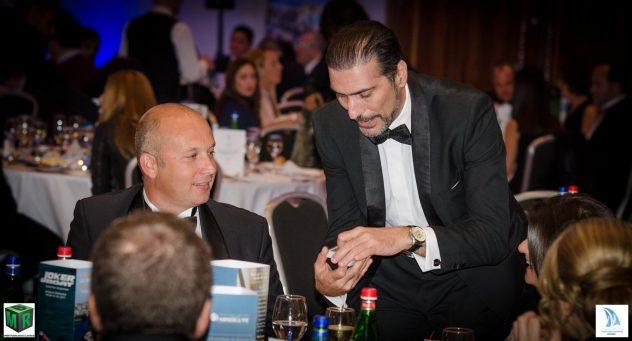 Close up Magic at table in Malta Brian Role magician in Malta
