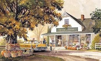 Vermont Fall Farm Wallpaper Doug Laird Art Limited Edition Art Prints