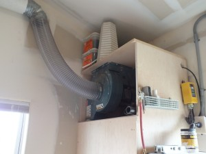 Dust Collection Cabinet