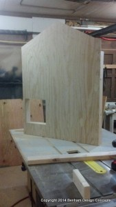 Preassembled wall panel