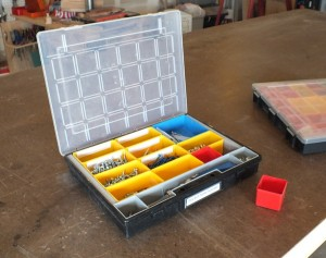Removable storage bins allit sortimo style