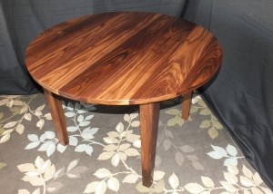 Walnut Round Table
