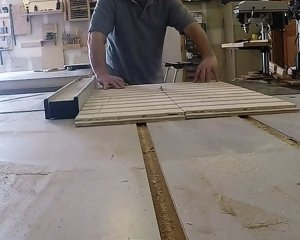 Cutting dadoes in plywood