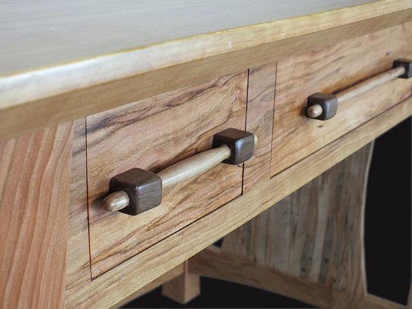 Handle build for Desk | Brian Benham's Blog