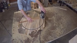 circle cutting jig for router