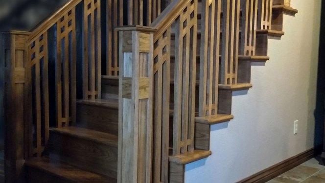 Building A Custom Staircase And Handrail Brian Benham S Blog